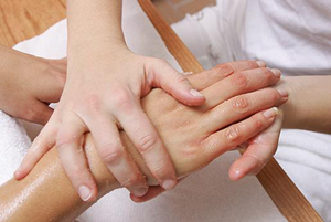 Tratamiento de manicura spa
