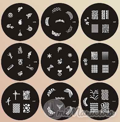 Moldes y plantillas para decorar u as facilmente for Donde venden stickers para pared