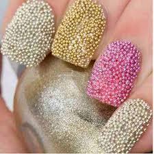 Caviar para hacer Nail Art en casa