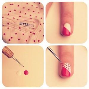 Punzon para hacer Nail Art en casa