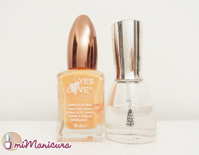 Esmaltes baratos de Yes Love