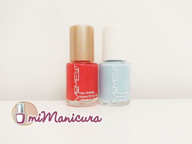 Esmaltes baratos de la marca Moment make up