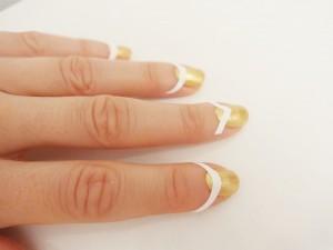 Guias para manicura francesa