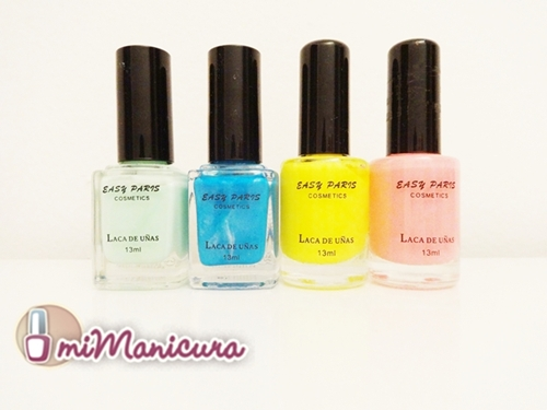 Laca de uñas Easy Paris