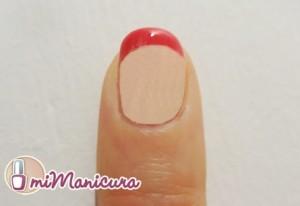 Manicura Francesa tonos rosados