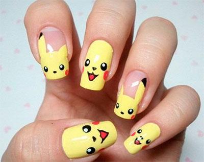 Diseño de uñas manga