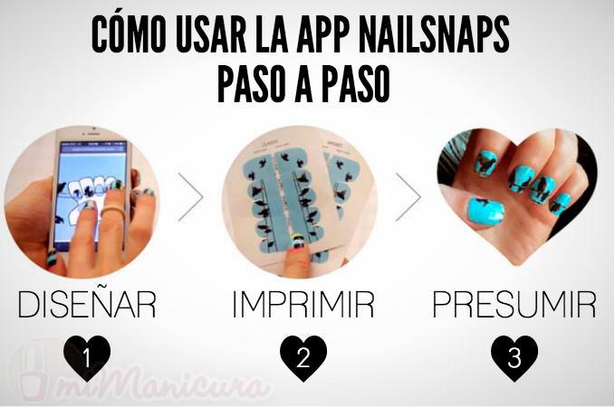 App NailSnap como se usa