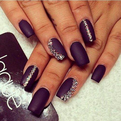 nail art strass c mo decorarte las u as con cristalitos. Black Bedroom Furniture Sets. Home Design Ideas