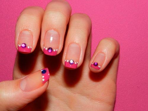 Nail art strass c mo decorarte las u as con cristalitos for Unas decoradas con piedras de cristal