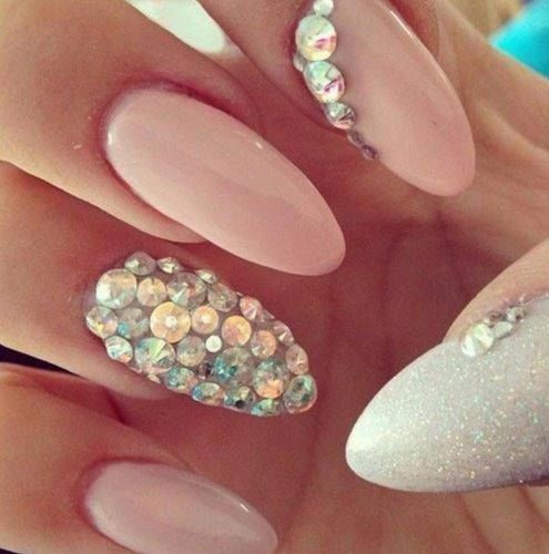 Nail Art brillantes