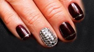 Nail Art Strass cómo decorarte las uñas
