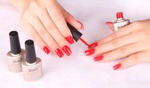 pintar bien las uñas en casa