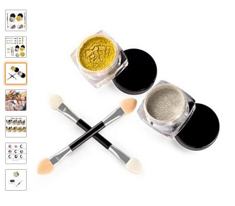 Comprar polvos para manicura efecto espejo